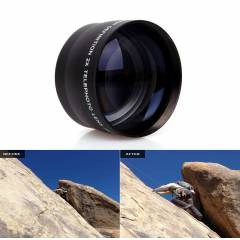 Canon 18-55mm i�in HD Telephoto 2x Zoom Lens