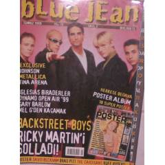 BLUE JEAN TEMMUZ 1999 RED HOT CHILI PEPPERS