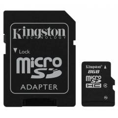 KINGSTON 8GB MICROSD HAFIZA KARTI SDC4 8GB
