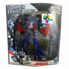 TRANSFORMERS OPT�MUS PR�ME MODEL� ROBOT ARABA