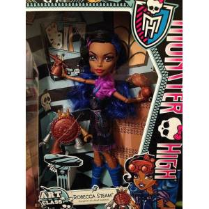 Monster High Art Class ROBECCA STEAM