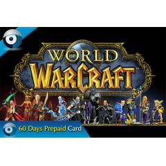 World Of Warcraft WOW 60 G�nl�k PrePaid Card