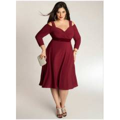 MANGOL�NO DRESS MD7005-CAN KOL Bordo