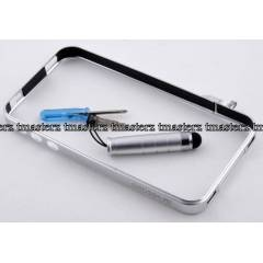 Crossline iphone 4 K�l�f Bumper Metal
