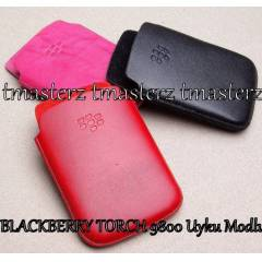 Blackberry Torch 9800 Deri K�l�f Uyku Modu +F�LM