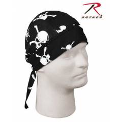 BANDANA,DO RAG,SKULL CAP,HEADWRAP, PIRATE SKULL