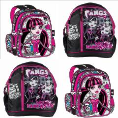Monster high s�rt �antas� Okul �anta