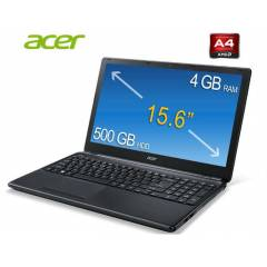 Acer E1-522 AMD Quad-Core1.5GHz 15.6 4GB500 Win8