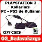 PLAYSTAT�ON 2 OYUN KOLU GAMEPAD USB �EV�R�C�