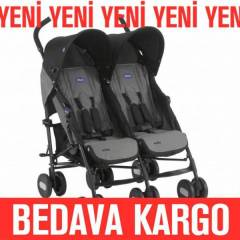 CHICCO ECHO �K�Z  BEBEK ARABASI  COAL