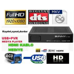 SUNNY AT 14800 PVR MULT�MED�A FULL HD UYDU ALICI