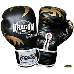 Dragon Shadow Boks ve Kick-boks Eldiveni Siyah