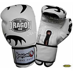 Dragon Shadow Boks ve Kick-boks Eldiveni Beyaz