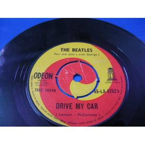 45'lik / THE BEATLES DRIVE MY CAR - MICHELLE