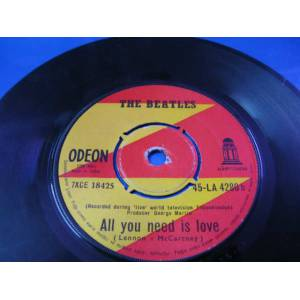 45'lik / THE BEATLES ALL YOU NEED �S LOVE