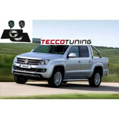 VW Amarok orjinal sis far ve krom �er�eve seti