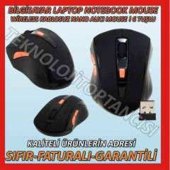 KABLOSUZ MOUSE WIRELESS MOUSE NANO ALICILI
