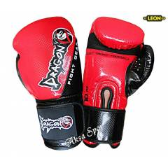 Dragon Carbon Boks ve Kick-boks Eldiveni K�rm�z�