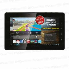 "Dark EvoPad 7"" T7000 GPS 1GB Ram 8GB Tablet Pc"