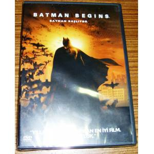 BATMAN BEGINS * BATMAN BA�LIYOR * CHRISTIAN BALE