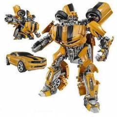 TRANSFORMERS BUMBLE BEE ARABA OLAN ROBOT  001