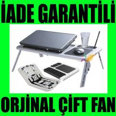 E-Table �ift Fanl� Laptop So�utucu Sehpas� Masa