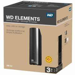 WESTERN DIGITAL ELEMENT YEN� MODEL 3TB USB 3.0