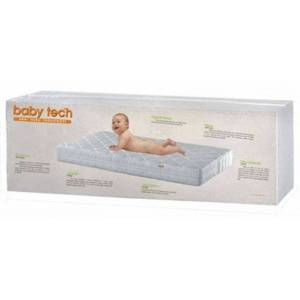 BABY TECH ORGAN�K %100  DO�AL BEBEK YATA�I70*130