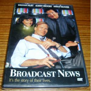 BROADCAST NEWS * WILLIAM HURT * ALBERT BROOKS