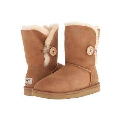 Ugg Bot Orta Boy D��meli Bailey Button chestnut
