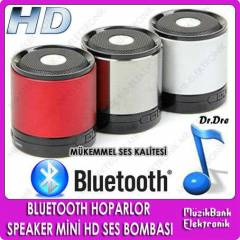 BLUETOOTH HOPARLOR SPEAKER M�N� HD SES BOMBASI