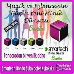 Smartech Bonita Subwoofer MP3 Player  Kulakl�kl�