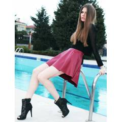MODA IN LOVE BORDO DER� KLO� ETEK