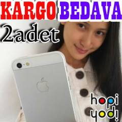 APPLE iPhone 5 KILIF �ZEL �RET�M 0.2mm KAPAK 2L�