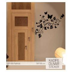 KAD�FE DUVAR STICKER FAITHFULL 118X100 CM
