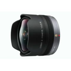 Panasonic Lumix G Fisheye 8mm F/3.5 Lens