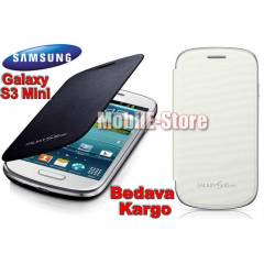 Samsung Galaxy S3 Mini i8190 Flip Cover+3xFilm