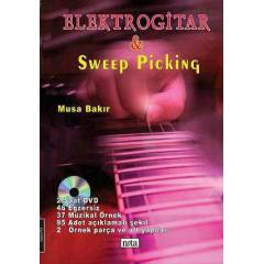 Elektro Gitar & Sweep Picking + DVD + Kargo