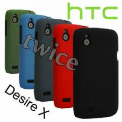 HTC Desire X K�l�f Anti-Scratch Rubber �izilmez