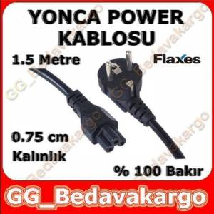Flaxes % 100 Bak�r Notebook Power Kablosu