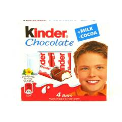 K�NDER CHOCOLATE 4 L�