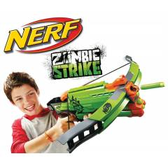 NERF ZOMB�E STR�KE CROSSF�RE BOW 2014 EN YEN�S�!
