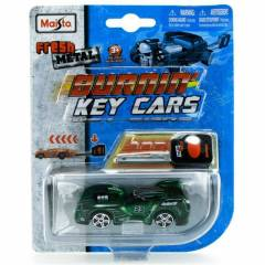 Maisto Burning Key Cars Koyu Ye�il Oyuncak Araba