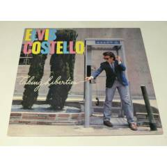 ELV�S COSTELLO - Taking Liberties , LP 1980