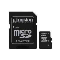 Kingston 16Gb Micro SD Class 4 Haf�za Kart�