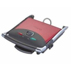 King P628R K�rm�z� Pop Grill Izgara ve Tost Maki