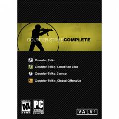 COUNTER STRIKE COMPLETE CS:GO STEAM KEY HMN TSLM