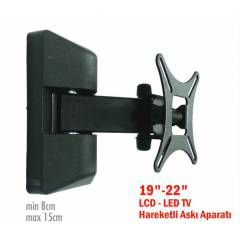 "19""-22"" LCD-LED TV Hareketli Ask� Aparat�"