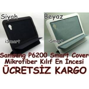 Samsung Galaxy Tab P6200 K�l�f Smart Cover P6210
