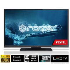 "Vestel Techwood 19""(50cm)FHD USB DVD'li LED TV"